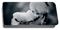 Portable Battery Charger featuring the photograph Snow - 365-284 by Inge Riis McDonald