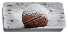 Snow Ball Portable Battery Charger by Al Powell Photography USA