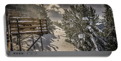 Portable Battery Charger featuring the photograph Snow by Bill Howard