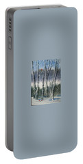 Snow Birch  Portable Battery Charger