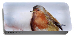 Snow Bird Portable Battery Charger by William Reed