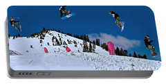 Snow Boarder Portable Battery Charger