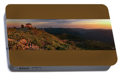 Portable Battery Charger featuring the photograph Snow Camp Lookout by Leland D Howard