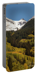 Snow Cap And Aspens Portable Battery Charger