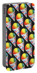 Snow Cone Pattern Portable Battery Charger