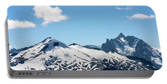 Snow-covered Peaks In North Cascades Portable Battery Charger