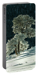 Snow Covered Tree - 9182 Portable Battery Charger