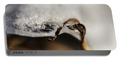 Snow Cryrstals Portable Battery Charger