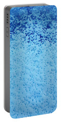 Snow Droplets  Portable Battery Charger