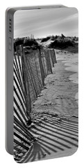 Snow Fence Portable Battery Charger