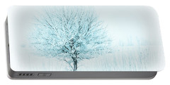 Snow Field Tree Portable Battery Charger