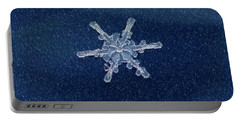 Snow Flake  Portable Battery Charger