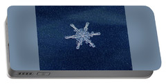 Snow Flake  Portable Battery Charger by Betty Pauwels
