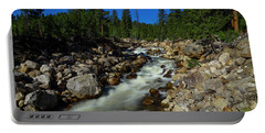 Snow Melt Stream Portable Battery Charger