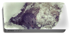 Snow Mouse Portable Battery Charger