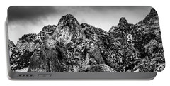 Portable Battery Charger featuring the photograph Snow On Peaks 46 by Mark Myhaver