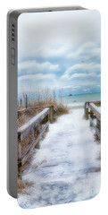 Snow On The Beach 9 Portable Battery Charger