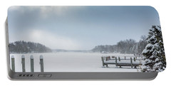 Snow On The Lake Portable Battery Charger
