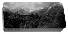 Snow On The Mountains Portable Battery Charger