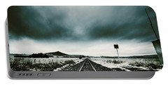 Portable Battery Charger featuring the photograph Snow Railway by Jorgo Photography - Wall Art Gallery
