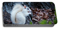 Snow White......squirrel, Portable Battery Charger