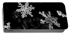 Snowflake Beauty Portable Battery Charger by Shelly Gunderson