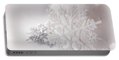 Snowflake Portable Battery Charger by Cindy Garber Iverson