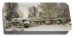 Portable Battery Charger featuring the photograph Snowing  by Tony Murtagh