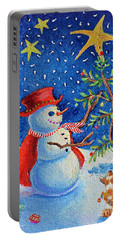 Snowmas Christmas Portable Battery Charger