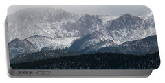 Snowstorm On Pikes Peak Portable Battery Charger