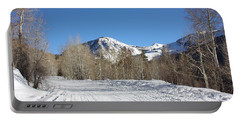 Snowy Aspen Portable Battery Charger