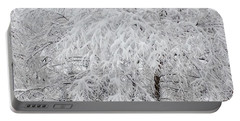 Snowy Branches Portable Battery Charger