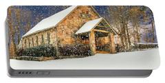 Snowy Cloudland Presbyterian Church  Portable Battery Charger