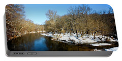 Snowy Creek Morning Portable Battery Charger