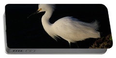 Snowy Egret, Florida Portable Battery Charger
