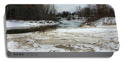 Snowy Elk Rapids River Portable Battery Charger