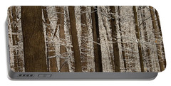 Snowy Forest Elevation Portable Battery Charger
