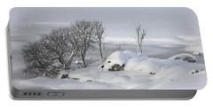 Snowy Landscape Portable Battery Charger