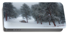 Snowy Morning - 0622 Portable Battery Charger