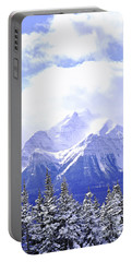 Snowy Mountain Portable Battery Charger
