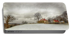 Snowy Mt Vernon Portable Battery Charger
