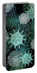 Snowy Night Portable Battery Charger by AugenWerk Susann Serfezi