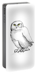 Snowy Owl 1 Portable Battery Charger
