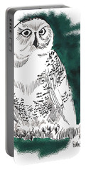 Snowy Owl II Portable Battery Charger