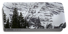Snowy Striations Portable Battery Charger