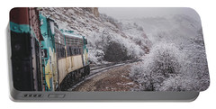 Snowy Verde Canyon Railroad Portable Battery Charger