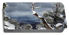 Snowy View Portable Battery Charger