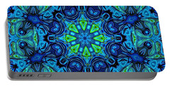 So Blue - 04v2 - Mandala Portable Battery Charger