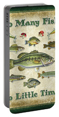 Smallmouth Bass Portable Batteries Chargers