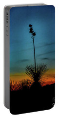 Soaptree Yucca At Sunset Portable Battery Charger